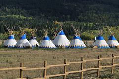Tipi Village Royalty Free Stock Image