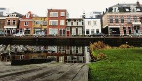 Tipical荷兰人房子 免版税库存照片