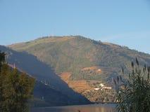 Tipical Ansicht Duero-Flusses lizenzfreies stockbild