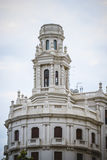 Tipical architecture of the Spanish city of Valencia Stock Photos