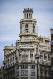 Tipical architecture of the Spanish city of Valencia Royalty Free Stock Photo