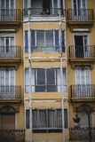 Tipical architecture of the Spanish city of Valencia Stock Photo