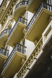 Tipical architecture of the Spanish city of Valencia Royalty Free Stock Photography