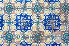 Tipical azulejo background Stock Photos