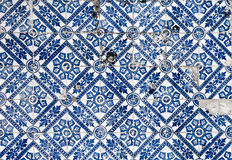 Tipical azulejo background Royalty Free Stock Image