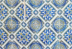 Tipical azulejo background Royalty Free Stock Photography
