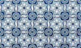 Tipical azulejo background Royalty Free Stock Images