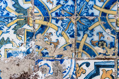 Tipical azulejo background Stock Photo
