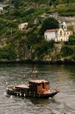 Rabelo turistic boat at Douro river Porto. stock photos