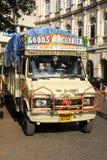 Tipical indian truck at Mumbai Stock Photography