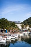 Tipical mallorquin boats Royalty Free Stock Photos