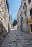 Tipical mediteraennian street Royalty Free Stock Images