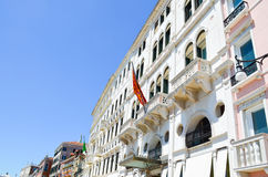 Tipical palace in Venice,Italy Royalty Free Stock Photo