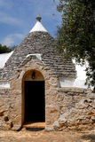 Tipical roofs of Trullo in Apulia Royalty Free Stock Photo