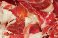 Tipical spanish ham Royalty Free Stock Image