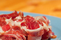 Tipical spanish ham Stock Image