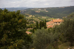 Tipical tuscany house Royalty Free Stock Photography