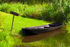 Tipically spreewald boat Royalty Free Stock Photos