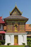 Tipitakazaal in Wat Hua Kuang Stock Afbeelding