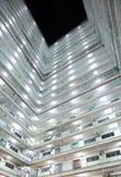 Tipo alloggio della torre gemella in Hong Kong Immagini Stock