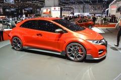 Tipo automobile di Honda Civic di concetto della R Fotografia Stock Libera da Diritti