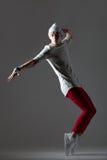 Tipo bello del ballerino fotografia stock libera da diritti