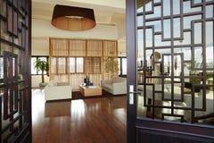 Tipo chino moderno hogar Foto de archivo