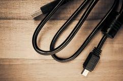 tipo conector del usb Imagen de archivo
