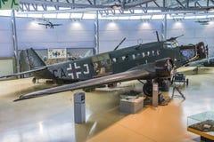 Tipo de aviões, ju 52 dos junkers Imagens de Stock Royalty Free