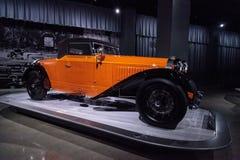 Tipo 1930 de Bugatti da laranja 46 Cabriolet Fotografia de Stock
