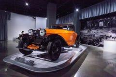 Tipo 1930 de Bugatti da laranja 46 Cabriolet Imagem de Stock