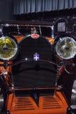 Tipo 1930 de Bugatti de la naranja 46 cabriolé Imagenes de archivo