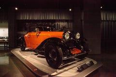 Tipo 1930 de Bugatti de la naranja 46 cabriolé Foto de archivo