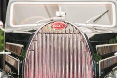Tipo 1938 de Bugatti del vintage 57 coche Ventoux Imágenes de archivo libres de regalías
