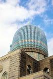 Tipo de Comman de bóveda de la mezquita del Islam, un architectu árabe de la influencia foto de archivo libre de regalías