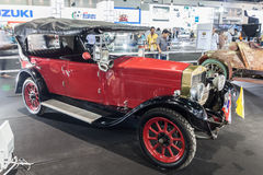 Tipo 509 de Fiat, um carro do vintage Foto de Stock