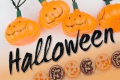 Tipo de Halloween Imagens de Stock