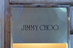 Tipo de Jimmy Choo Imagem de Stock Royalty Free