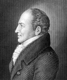 Tipo de Johann Friedrich Fotos de Stock