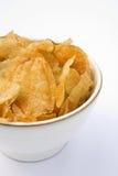 Tipo de la caldera de las patatas fritas Imagen de archivo