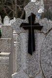 Tipo de la cruz fúnebre 10 Imagen de archivo libre de regalías