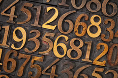 Tipo de madera extracto del número Imagen de archivo