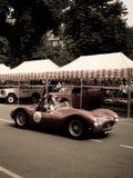 Tipo 61 de Maserati em Bergamo Prix grande histórico 2015 Fotos de Stock