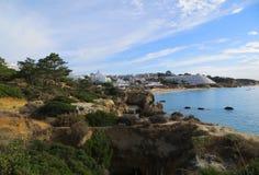 Tipo de relevo (Albufeira, Portugal) Fotografia de Stock