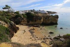 Tipo de relevo (Albufeira, Portugal) Imagem de Stock Royalty Free