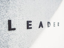 Tipo del trabajo de Team del líder en el negocio del fondo conceptual fotos de archivo