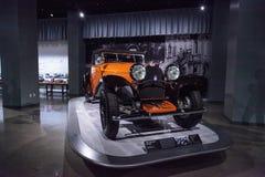 Tipo 1930 di Bugatti dell'arancia 46 cabriolet Immagini Stock
