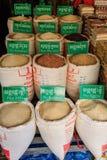 Tipo di riso in Cambogia Immagine Stock
