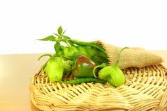 Tipo diferente fresco pimentas de pimentão Foto de Stock Royalty Free