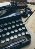 Tipo escritor desde 1920 s do vintage Foto de Stock Royalty Free